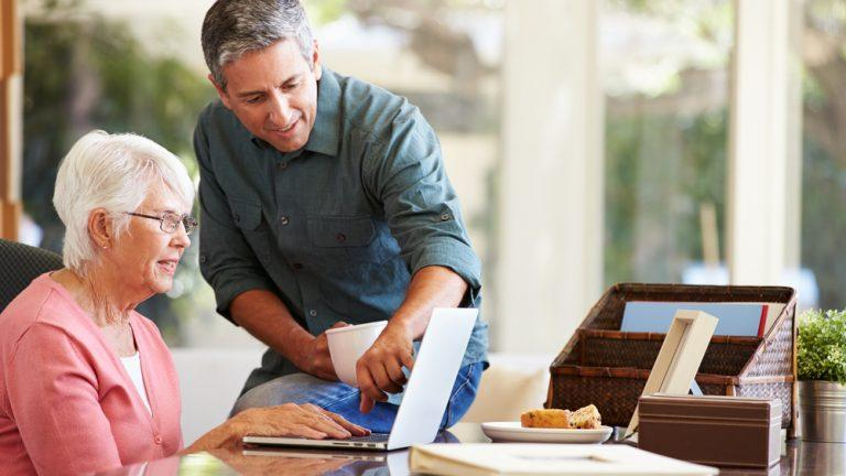 how do i help my aging parents manage their money