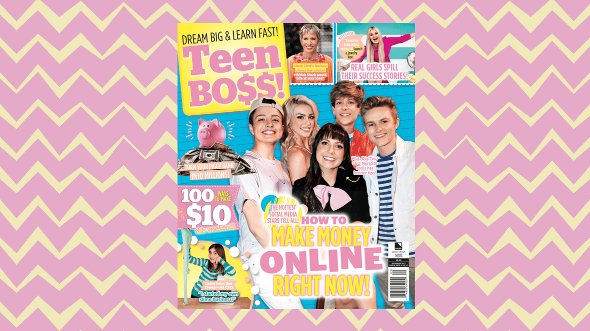 What Teen Boss magazine gets wrong about money and kid